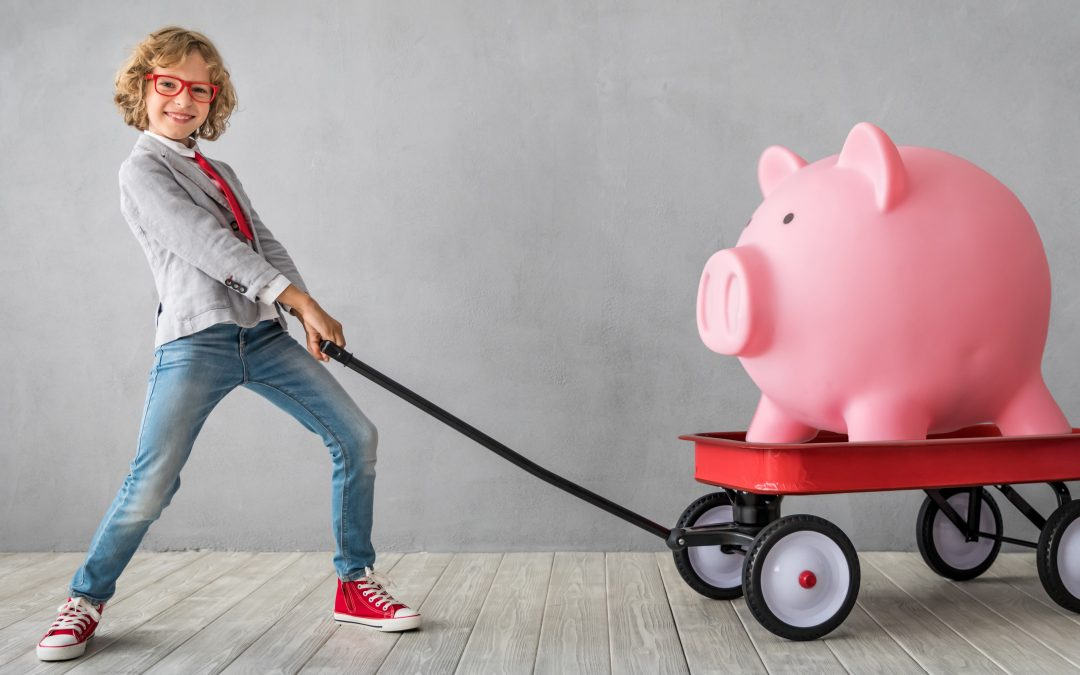 A pair of practices to help you raise financially responsible kids
